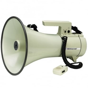 Heavy Duty Stand Mountable Megaphone 20w With Siren, Volume & 12v Input