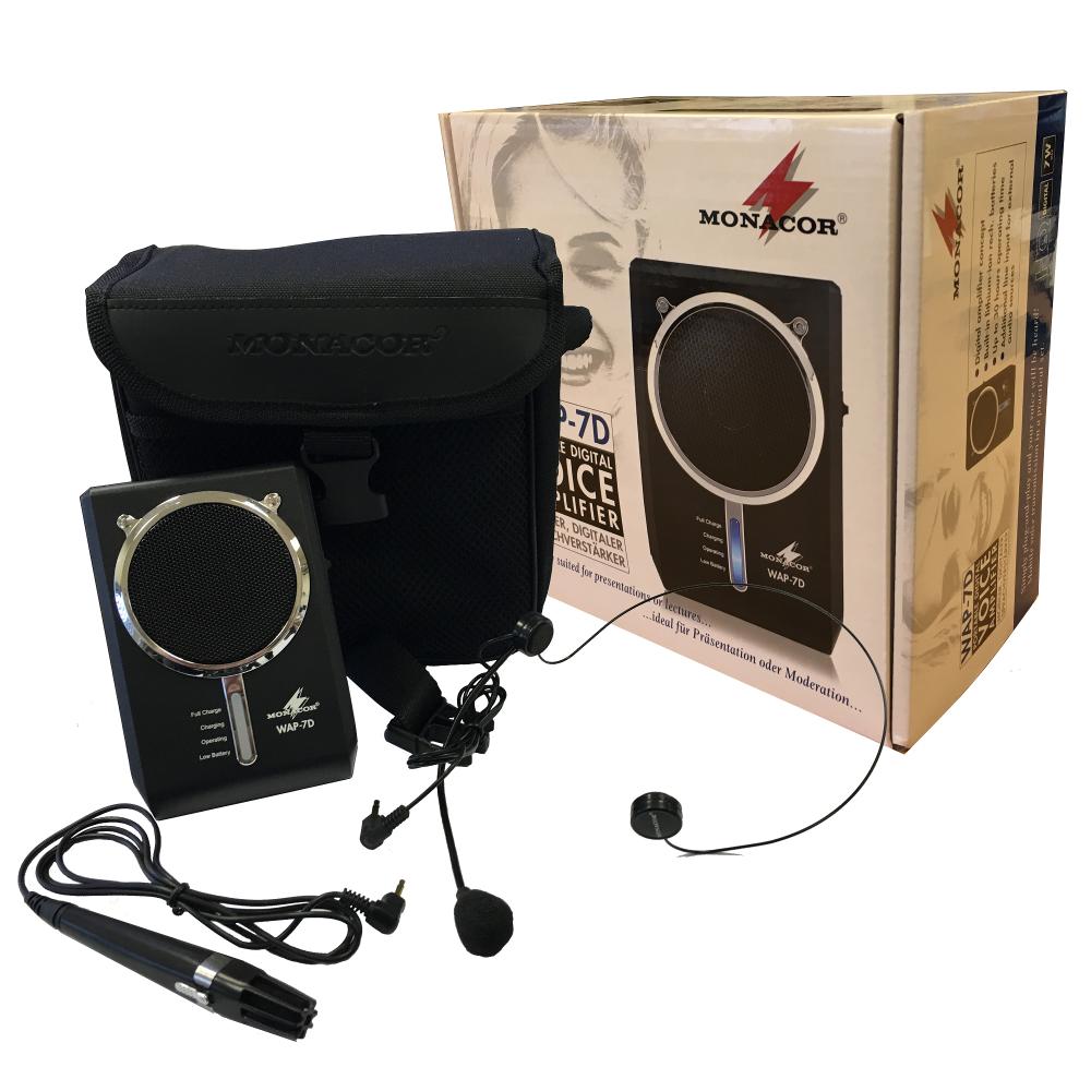 wap 7d waistband persoinal digital voice amplifier headset microphone. Black Bedroom Furniture Sets. Home Design Ideas