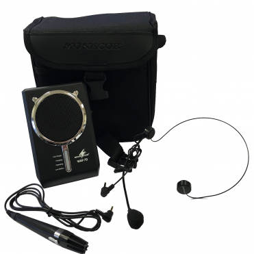 WAP-7D Waistband Persoinal Digital Voice Amplifier Headset & Electret Microphone