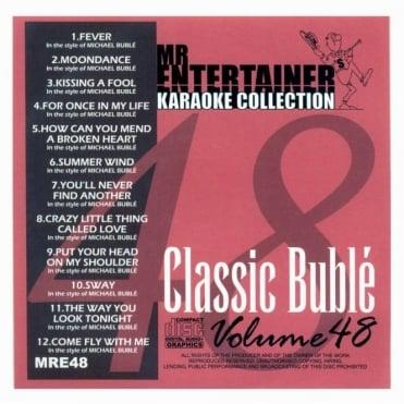 Karaoke CDG CD - Classic Buble CD+G Disc Ft Michael Bublé