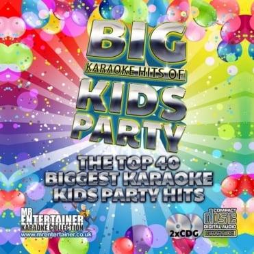 Karaoke CDG - Kids Party Classics - Double CD+G Discs