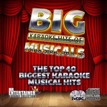 Karaoke CDG - The Best of Musicals - Double CD+G Discs