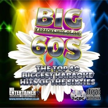 Karaoke CDG - The Big 60's Hits - Double Sixties CD+G Discs