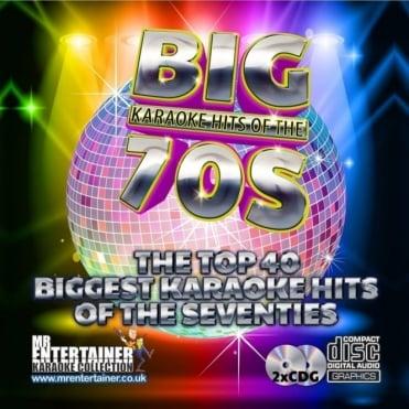 Karaoke CDG - The Big 70's Hits - Double Seventies CD+G Discs