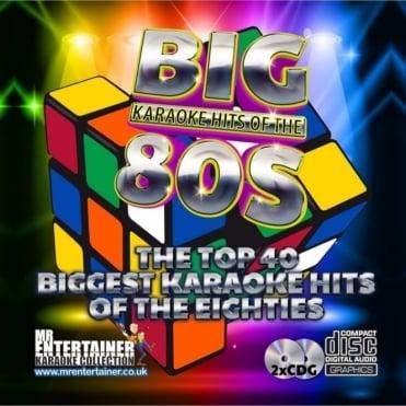 Karaoke CDG - The Big 80's Hits - Double Eighties CD+G Discs