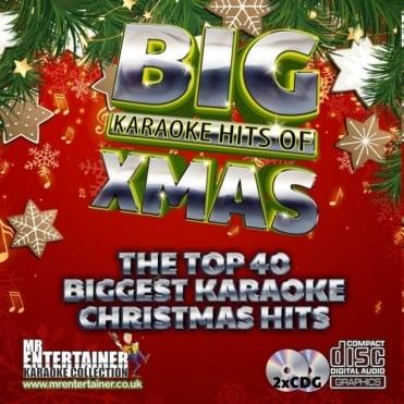 Karaoke CDG - The Big Christmas Hits - Double CD+G Discs Xmas