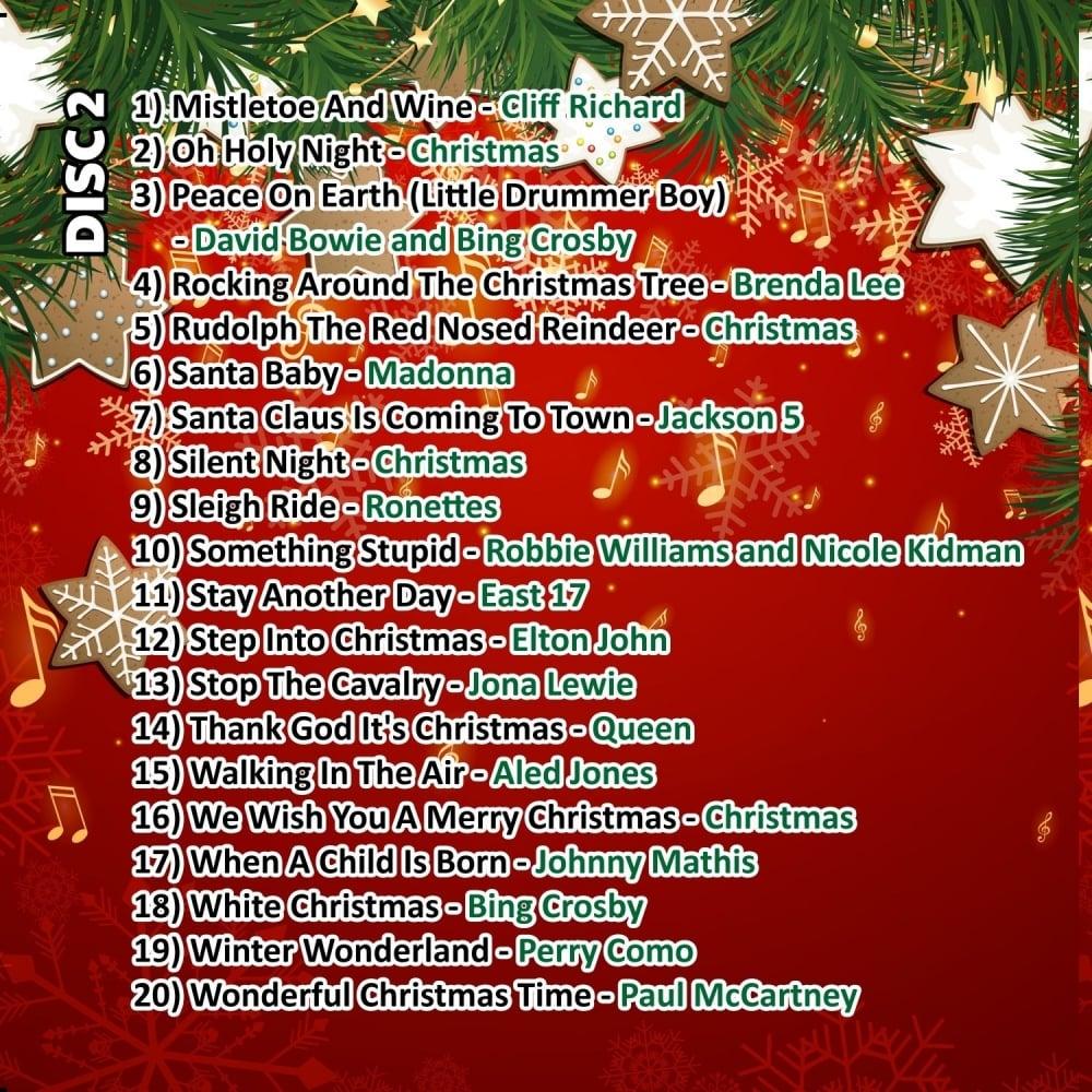 Christmas Karaoke Cd.Karaoke Cdg The Big Christmas Hits Double Cd G Discs Xmas