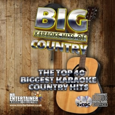 Karaoke CDG - The Big Country Hits - Double CD+G Discs