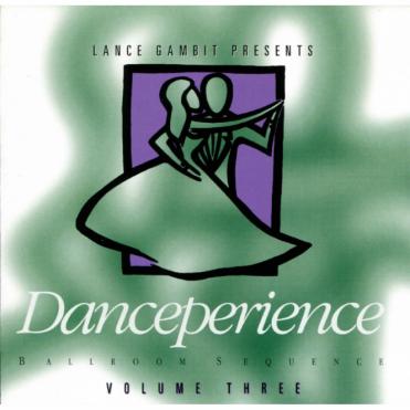 Ballroom Sequence CD Danceperience Vol 3 - Waltz, Foxtrot, Tango, Samba