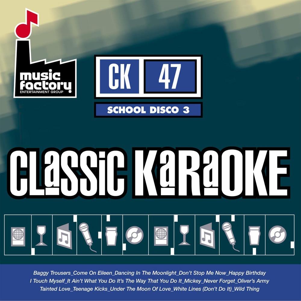 Classic karaoke school disco cdg disc 15 classic skool for Classic house hits