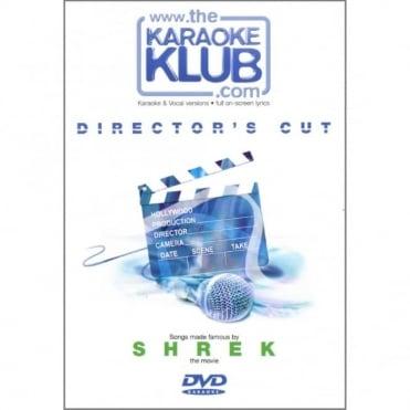 Director's Cut SHREK Karaoke DVD Disc - 10 CD+G Hits + Full Vocal Versions