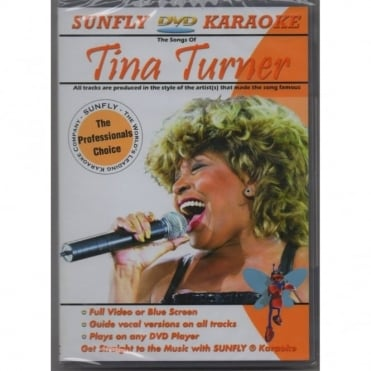 Karaoke DVD Tina Turner - Full Video / Blue Options - All Region