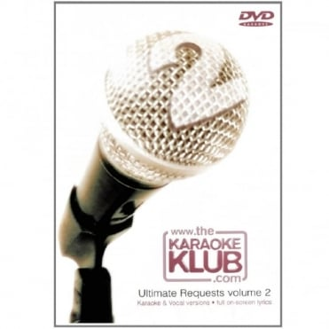 The Karaoke Klub Ultimate Requests DVD - Karaoke & Full Vocal Versions