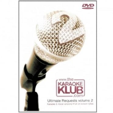 The Karaoke Klub Ultimate Requests DVD - Karaoke & Full Vocal Versions