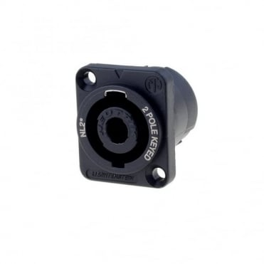 NL2MP 2 Pole Male Speakon Chassis Connector