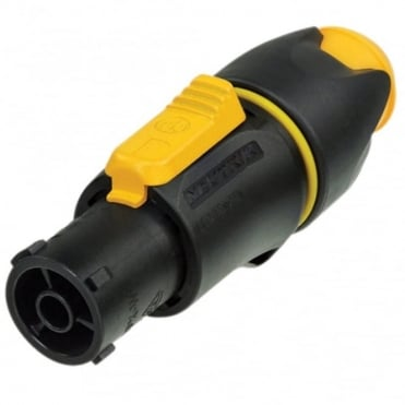 Waterproof 16A Female Powercon True Locking Cable Connector