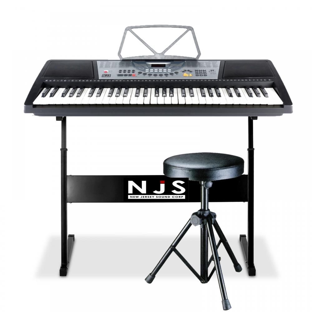 New Jersey Sound Corp Folding Sheet Music Stand Colour Black