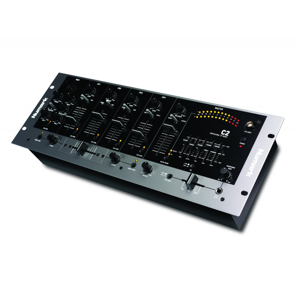 C2 Fourchannel Rack Mixer With Fiveband Eq