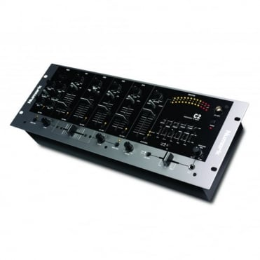 C2 Four-Channel Rack Mixer with Five-Band EQ