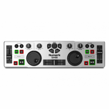 DJ2GO Portable USB DJ software controller