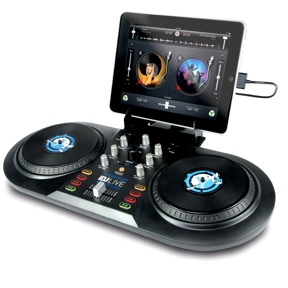 how to connect dj controller to ipad