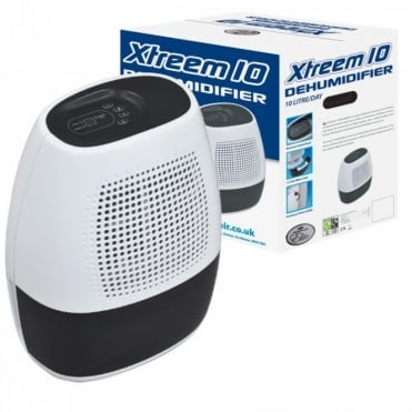 10L Xtreem 10 Dehumidifier 1.5L Tank Capacity & Variable Humidity Control