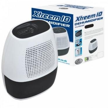 10L Xtreem 10 Dehumidifier 1.5L Tank Capacity & Variable Humidity Control