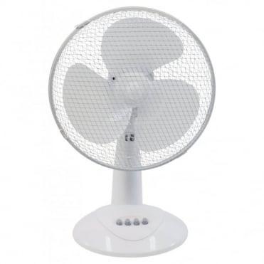 """12"""" 30cm Desk Fan 3 Speed Settings"""