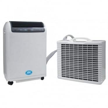 15000 BTU per Hour Split Remote Control Portable Air Conditioner with Timer