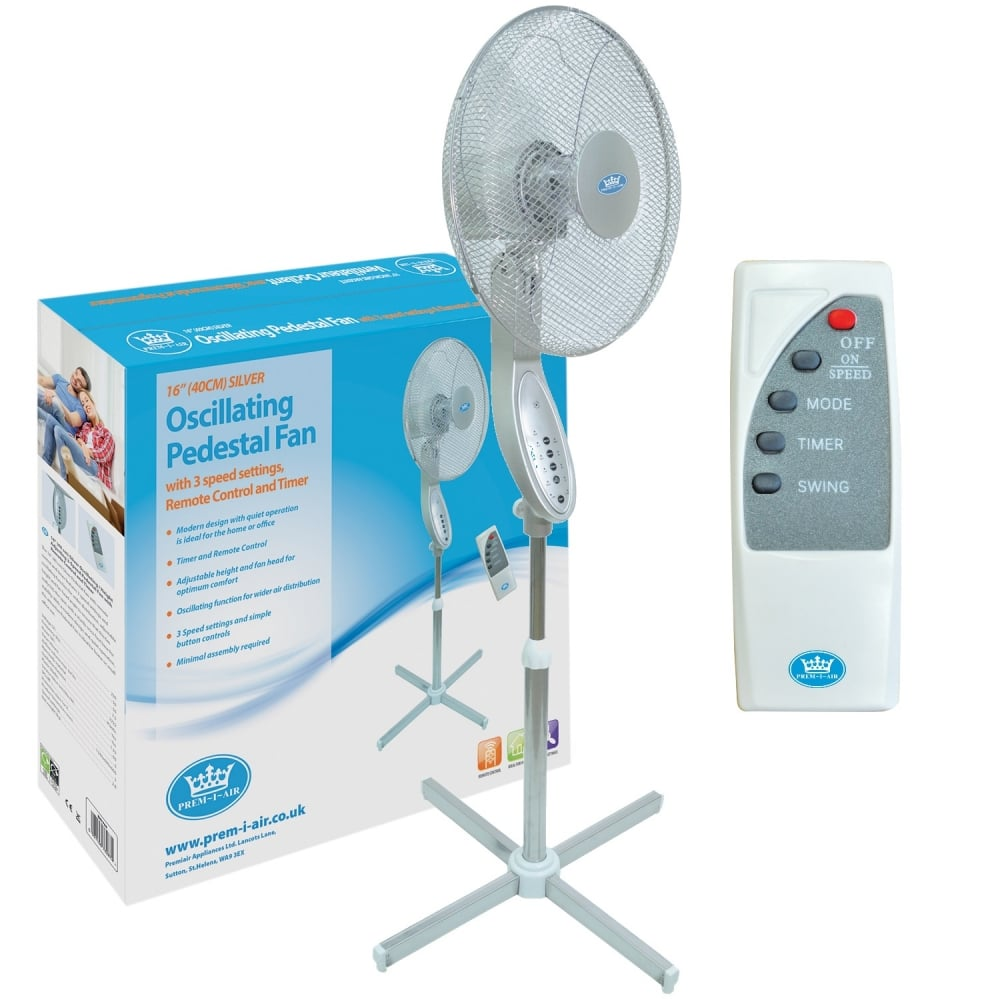 control pedestal white co fan oscillating speeds kitchen amazon i prem home uk remote dp air