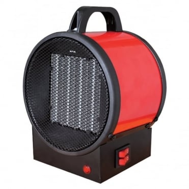 2kW Utility PTC Electrical Fan Heater With 2 Heat Settings