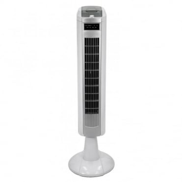3 Speed Tower Oscillation Fan with Timer and Remote Control