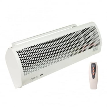 3kW PTC Over Door Heater/Fan with Remote Control and Timer
