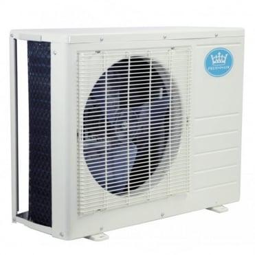 9000 BTU Per Hour Quick Coupling Wall Mounted Air Conditioner Exterior Unit