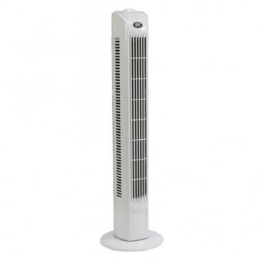 Lightweight Slim Tower Fan 3 Speed Settings