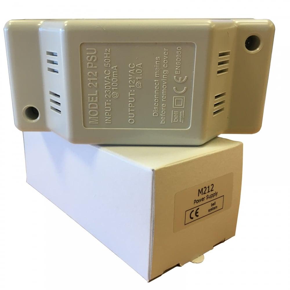 Bell System Model 212 Door Entry Power Supply Unit PSU 12v AC Wall ...