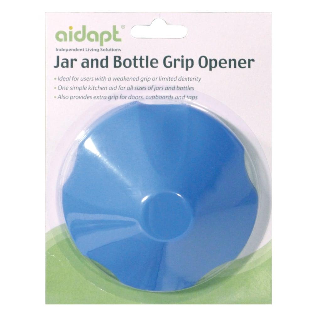 Aidapt Blue Jar & Bottle Grip Opener Easy Grip Aid - Soft Rubber Non ...