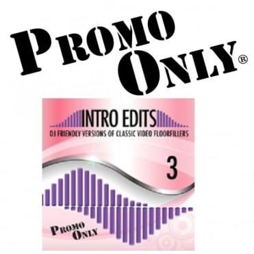 Promo Only Intro Edit Pop and Dance Classics Vol 3 Music DVD