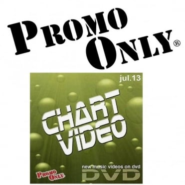 Promo Only July 2013 Chart Video Music DVD