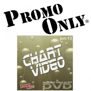 Promo Only June 2013 Chart Video DVD
