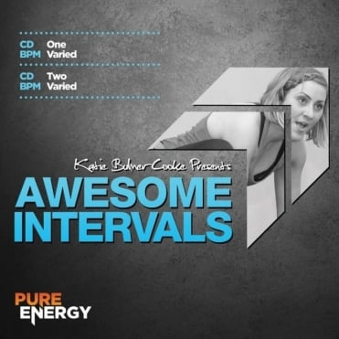 Awesome Intervals By KBC Katie Bulmer-Cook Aerobics Fitness Music CD