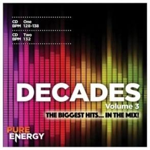 Decades Vol 3 Aerobics Fitness Music CD