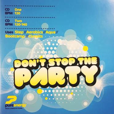 Don't Stop The Party Aerobics Fitness Continuous Megamix Music CD's Double Album