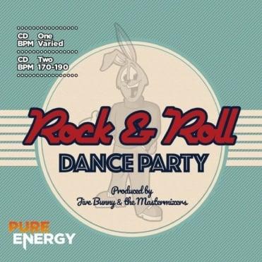 Jive Bunny Rock & Roll Dance Party Aerobics Fitness Music CD