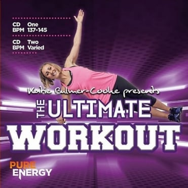 Katie Bulmer-Cook Presents The Ultimate Workout Double Aerobics Fitness Music CD