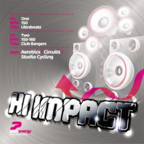 Presents Hi Impact Double Aerobics Fitness Music CD