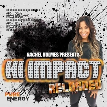 Presents Hi Impact Reloaded Double Aerobics Fitness Music CD