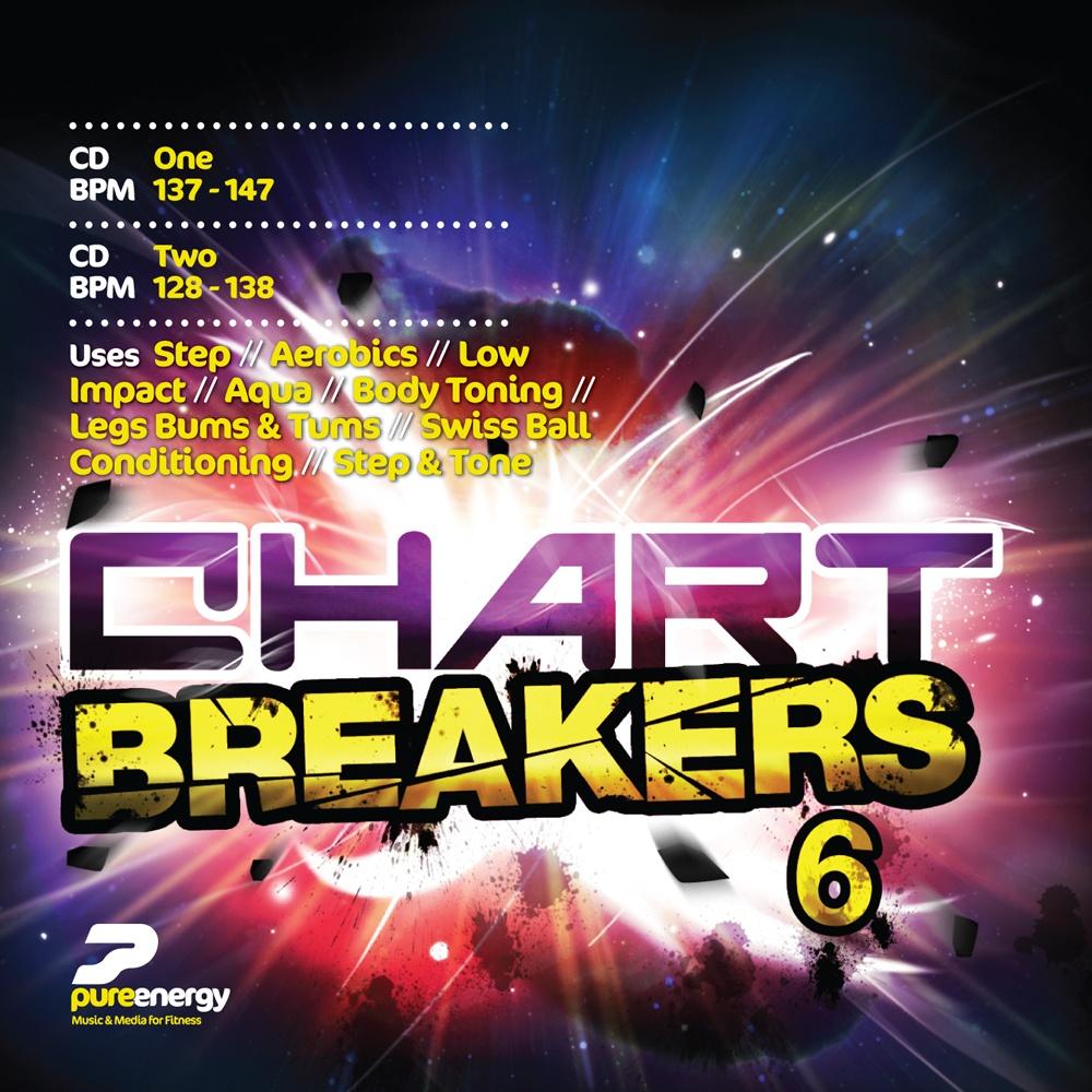 Chart Breakers Vol 6 Aerobics Fitness Music CD