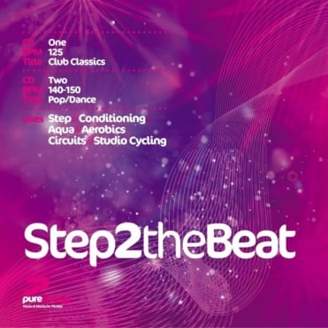 Step 2 The Beat Double Aerobics Fitness Music CD
