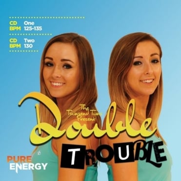 The Townsend Twins Presents Double Trouble  Aerobics Fitness Music CD